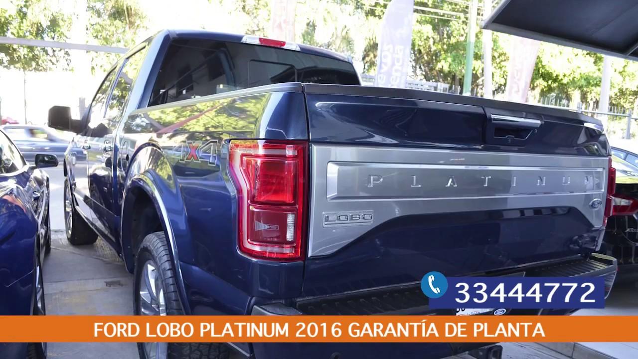 Ford Lobo 2016 >> Ford Lobo Platinum 2016 Seminuevos Plasencia Youtube
