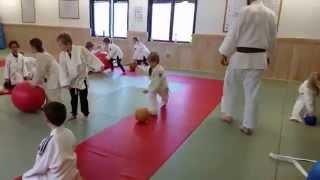 Avslutningslek på Färgelanda judoklubb