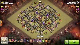 Clash of Clans - TH10 - GoWiWi - War 108 vs Iranian Wolf's - Gooroomp vs #1