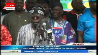 Ekiti APC Mega Rally: Fayemi's Last Re-election Campaign Pt.14