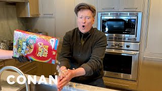 Conan's St. Patrick's Day Hand-Washing Tutorial