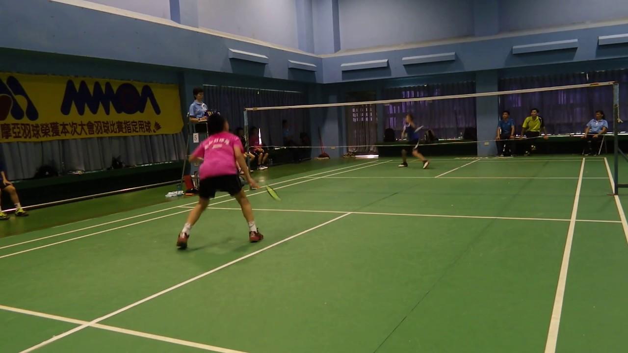 105 11 19 全國國小盃羽球團體賽8強敦和賴柏佑vs崑山蔡富丞 - YouTube