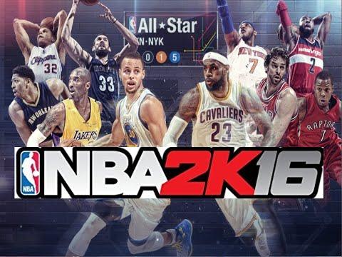 NBA all star 2015. NBAオールスターゲーム プレイ動画(フル)【NBA 2K16】
