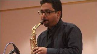 musafir hoon yaaron from parichay on alto sax