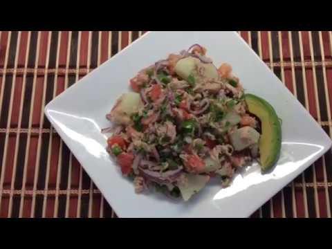 Como hacer ensalada de atun ecuatoriana