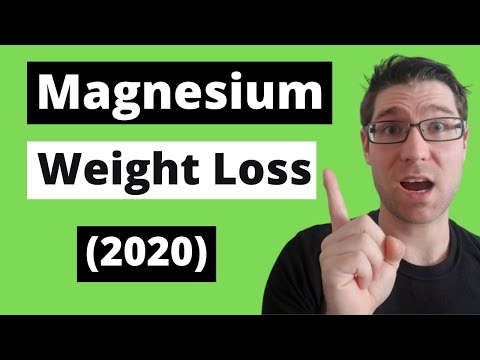 Magnesium Citrate For WEIGHT LOSS (2020)