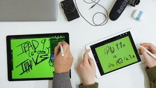 iPad Pro VS 2018 New iPad | A Designer