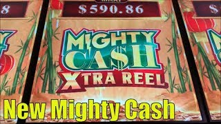 ★NEW MIGHTY CASH !☆MIGHTY CASH XTRA REEL (GUO NIAN) Slot $135 Free Play Slot Live @ San Manuel☆彡