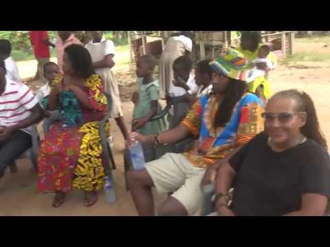 Full Overview of Garvey Town Community in Gomoa, Ghana - Nov 2018 Tour