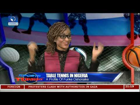 Funke Oshonaike Advocates More Supports For Table Tennis In Nigeria |Sports Tonight|