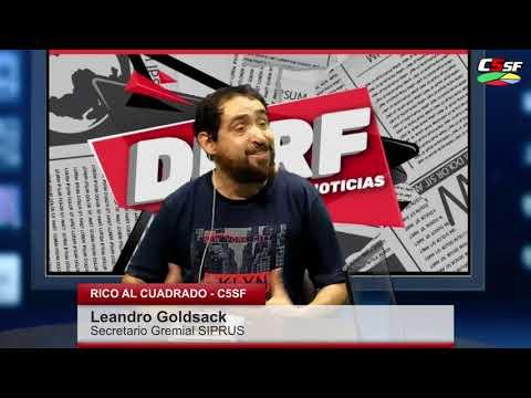 Goldsack: No puede haber gente trabajando en negro para el Estado