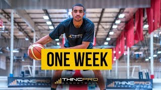 How to - Become a BETTER BASKETBALL PLAYER in ONLY 1 WEEK! (Basketball Training For Young Players)