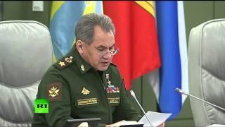 Сергей Шойгу: В ответ на действия НАТО Россия сформирует три новые дивизии