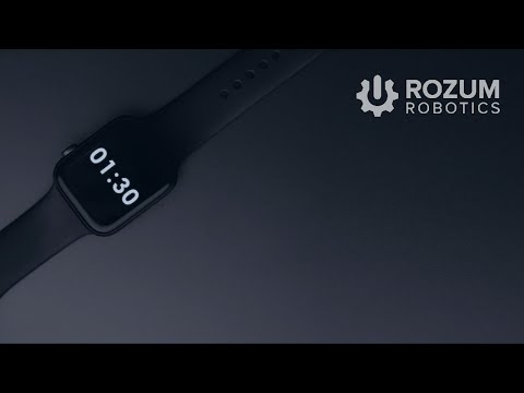 Launch Servo Motors by Rozum Robotics in 1,5 minutes