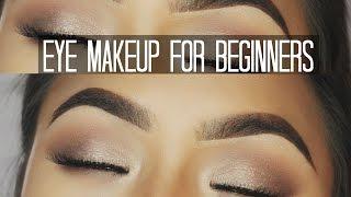How to apply eyeshadows for beginners ✔️ Mia Randria