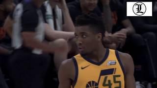 Donovan Mitchell Comes Up Big in the 4th Quarter! Utah Jazz vs Phoenix Suns 15FEB2018 Highlights