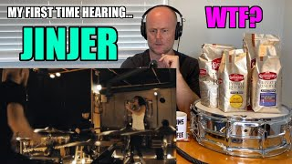 Drum Teacher Reacts: My FIRST Time Hearing JINJER - Pisces (Live Session)   Napalm Records OMG!