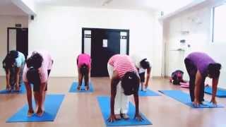 Yoga with Mana - Standing Sun Salutation/Surya Namaskar Names