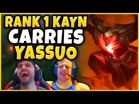 #1 KAYN WORLD SAVING YASSUO IN TYLER1 CHALLENGER BET - League of Legends thumbnail