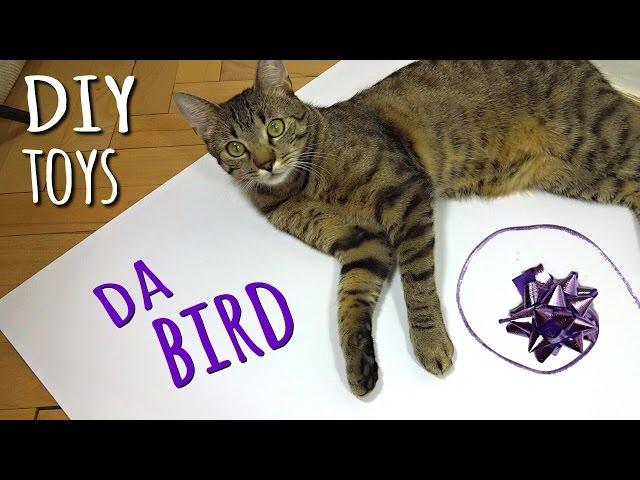 DIY CAT TOYS: Da Bird