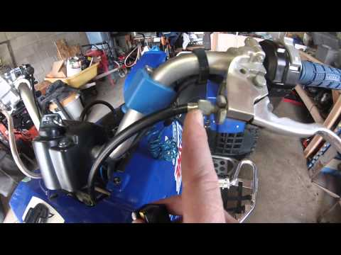 Banshee or Blaster Sticking Throttle Fix