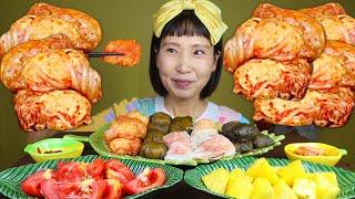 밥시리즈 쌈밥모음(묵은지, 깻잎, 곰취, 양배추쌈밥)먹…