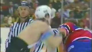 Marty McSorley vs Lyle Odelein