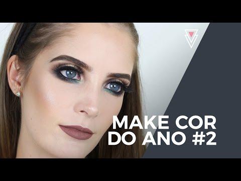 Maquiagem com a cor do ano #2 | Luiza Rossi