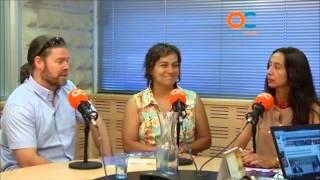 CAMINANDO POR LA PAZ en BUENOS DIAS de OndaCadizTV. 26Junio2013