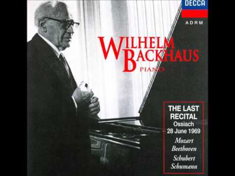 Wilhelm Backhaus - The Last Recital
