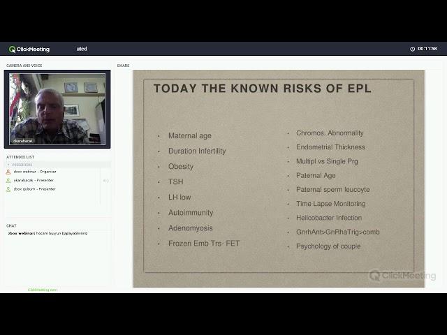 Prof. Dr. Onur Karabacak - Tekrarlayan Gebelik Kayıpları Kanıta Dayalı Son Bilgiler