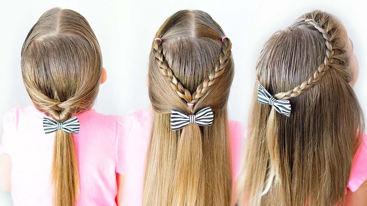 3 easy toddler hairstyles - 5 minute