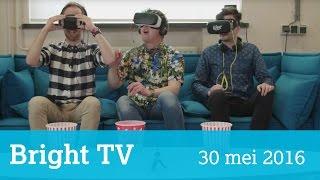 Bright TV 30 mei 2016: VR-etiquette, TomTom op de motor, Nederland even tech-walhalla