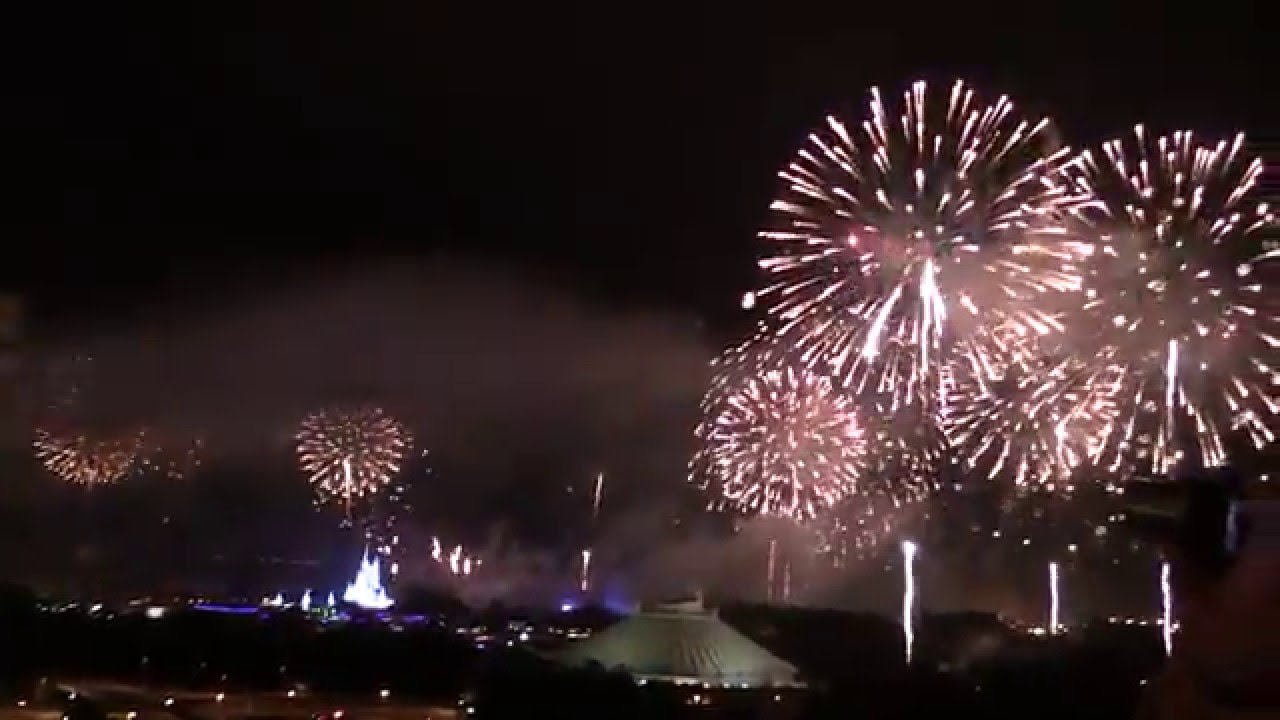New Year S Eve 2016 Fireworks Show At Walt Disney World