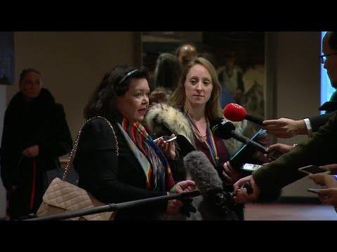 United Kingdom On Yemen - Media Stakeout (16 January 2019)