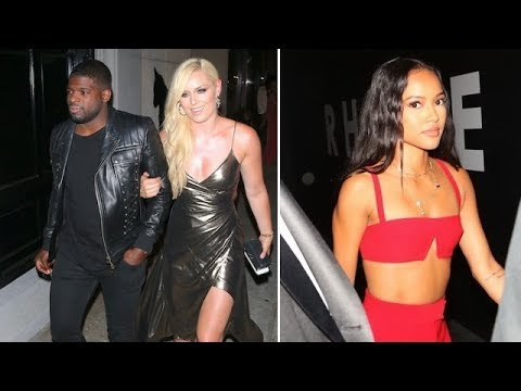 Lindsey Vonn Stuns In Metallic Dress As She Dines At Craig's With Karrueche Tran