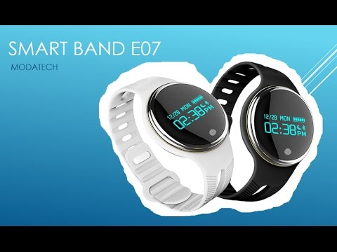 Smart Band E07 - Review Español Latino - MODATECH