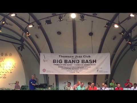 Thomson Big Band at Botanic Gardens - 28 May 2017