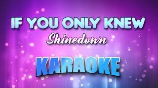 Shinedown - If You Only Knew (Karaoke version with Lyrics)