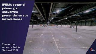 IFEMA MADRID   Convocatoria exámenes Policía Nacional 2021