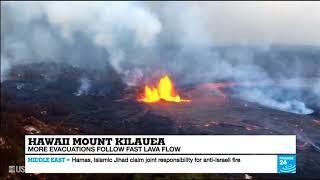 Извержение вулкана на Гавайских островах (31/05/2018)