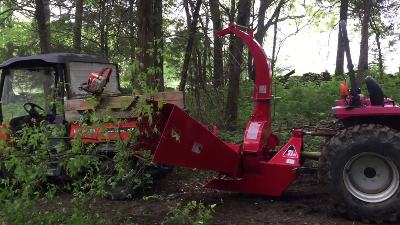 Titan Wood Chipper Wc Bx62 Pto Driven 3 Point Attachment Available