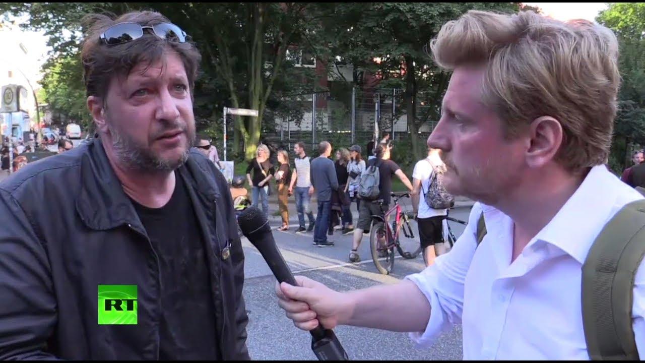 Очевидец протестов против саммита G20 рассказал RT о действиях полиции