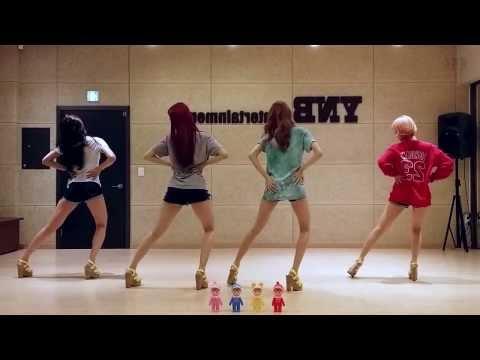 BESTie - Love Options - mirrored dance practice video - 베스티 연애의 조건