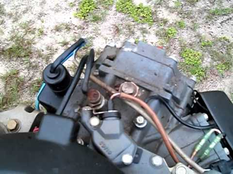 1977 85hp Johnson Wiring Diagram Temp Gauge And Wp Fitting Youtube