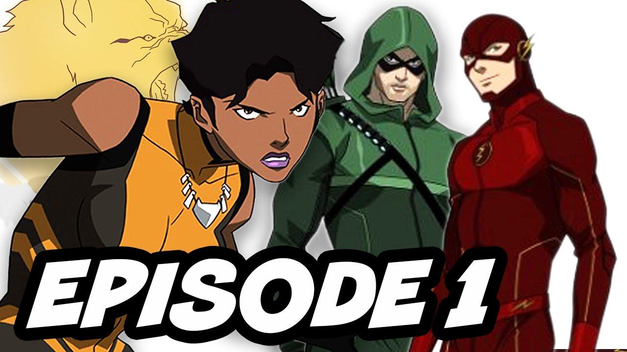 Vixen Episode 1 Enter The Flash And Arrow