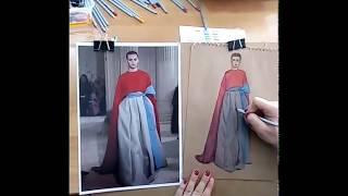 Урок fashion illustration