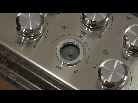 Gas Valve Shaft Seal - Whirlpool Retractable Downdraft Vent Repair (Model #UXD8630DYS4)