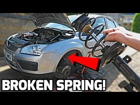 Ford Focus mk2 Front Spring Replacement (How To)