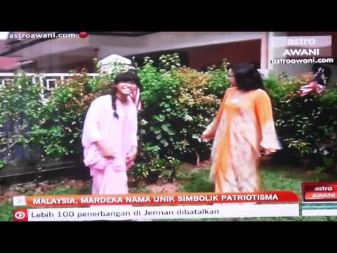 Malaysia and Mardeka in ASTRO AWANI television